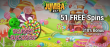 Jumba Bet 51 FREE Spins on Saucify Sweet Success plus 310% Match Bonus Exclusive Sign Up Offer
