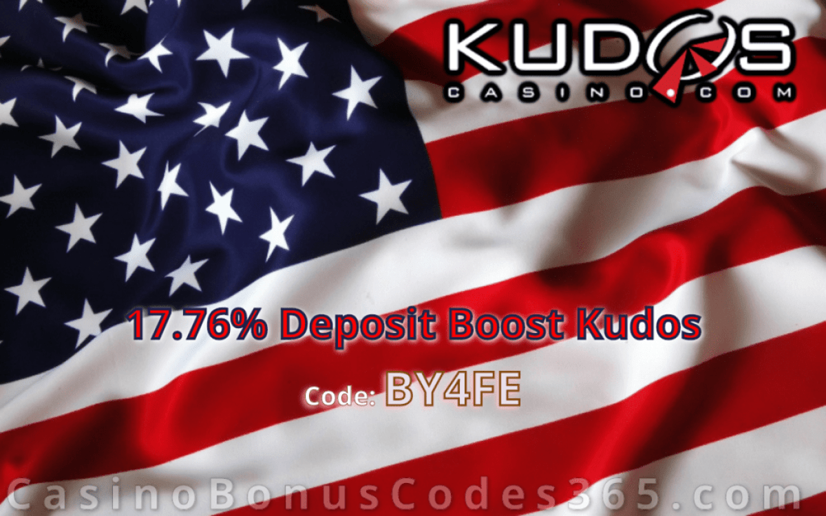 Kudos Casino Independence Day Specials