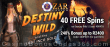 ZAR Casino 40 FREE Saucify Destiny Wild and the Lost Inca Gold Spins plus 240% Match Bonus Welcome Package