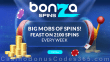 Bonza Spins Big Mobs of Spins