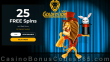 Golden Lion Casino 25 FREE 5 Reel Circus Spins No Deposit Welcome Offer