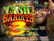 Kudos Casino RTG Cash Bandits 3 Chips and Spins Weekend