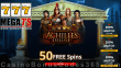 Mega7s Casino 50 FREE Achilles Deluxe Spins Special New RTG Game Special Promo