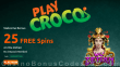 PlayCroco 25 FREE Spins on RTG Wu Zetian Special All Players No Deposit Offer
