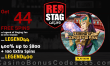 Red Stag Casino 44 FREE WGS Legend of Singing Fan Spins and 400% Match plus 100 FREE Spins Special Welcome Package