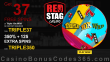 Red Stag Casino 37 FREE Spins on WGS Triple 10x Wild and 350% Match up to $700 Bonus plus 125 FREE Spins Special Welcome Offer