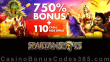 Spartan Slots 750% Match Bonus plus 110 FREE Spins on Top Welcome Package