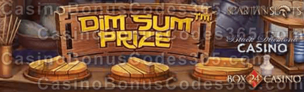 Box 24 Black Diamond Spartan Slots Dim Sum Prize New Betsoft Game is LIVE