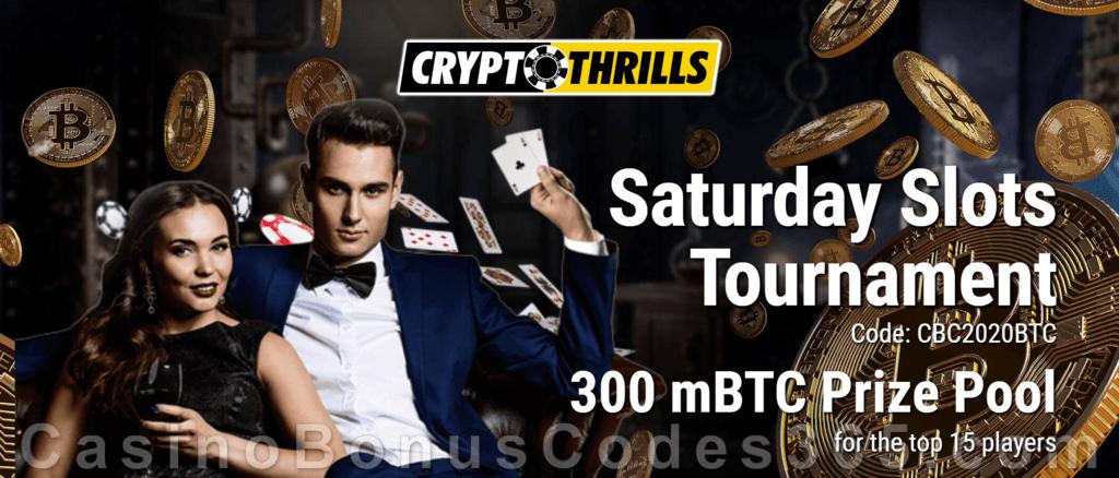 CryptoThrills Casino Saturday Slots Tournament