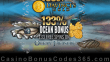 Da Vinci's Gold 133% Match Bonus plus 133 FREE Rival Gaming Ocean Treasure Spins September Monthly Promotion