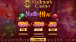 Hallmark Casino Betsoft Mystic Hive $50 No Deposit FREE Chip and 450% Match Bonus plus $100 FREE Chip Special Monthly Deal