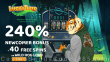 Lucky Tiger Casino 240% Match plus 40 FREE RTG Wild Hog Luau Spins New Players Welcome Bonus