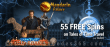 Mandarin Palace Online Casino Exclusive 55 FREE Spins on Tales of Saucify Time Travel No Deposit Offer