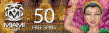 Miami Club Casino 50 FREE Spins on WGS Bangkok Nights Special No Deposit Promo Dog Gone It