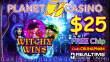 Planet 7 Casino New RTG Game Witchy Wins $25 No Deposit FREE Chip Special Deal
