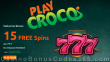 PlayCroco 15 FREE RTG 777 Spins No Deposit Special Deal for All Players