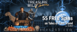 Treasure Mile Casino 55 No Deposit FREE Tales of Saucify Time Travel Spins Exclusive Deal