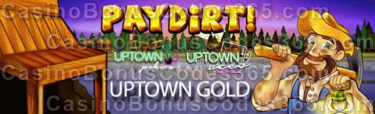Uptown Aces Uptown Pokies Paydirt September Spin Bonus Pack