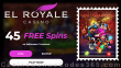 El Royale Casino 45 FREE Spins on RTG Halloween Treasures No Deposit Offer for New Players
