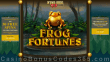 Grande Vegas Casino 150% up to $300 Bonus plus 150 FREE Spins on Frog Fortunes New RTG Game Special Offer