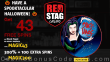 Red Stag Casino 43 FREE WGS Black Magic Spins and 300% Match Bonus plus 100 FREE Spins Special Halloween Welcome Offer