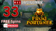 Casino Max 33 FREE Spins on Frog Fortunes Special New RTG Game No Deposit Welcome Deal