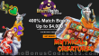Desert Nights Casino 400% Match up to $4000 for Dragon Gaming Mythical Creatures Welcome Bonus
