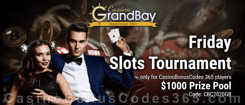 $1000 Prize Pool Casino Grandbay Friday Slots Tournament