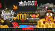 Las Vegas USA Casino $20 FREE Chip plus 400% Match Welcome Bonus Special Thanksgiving Deal