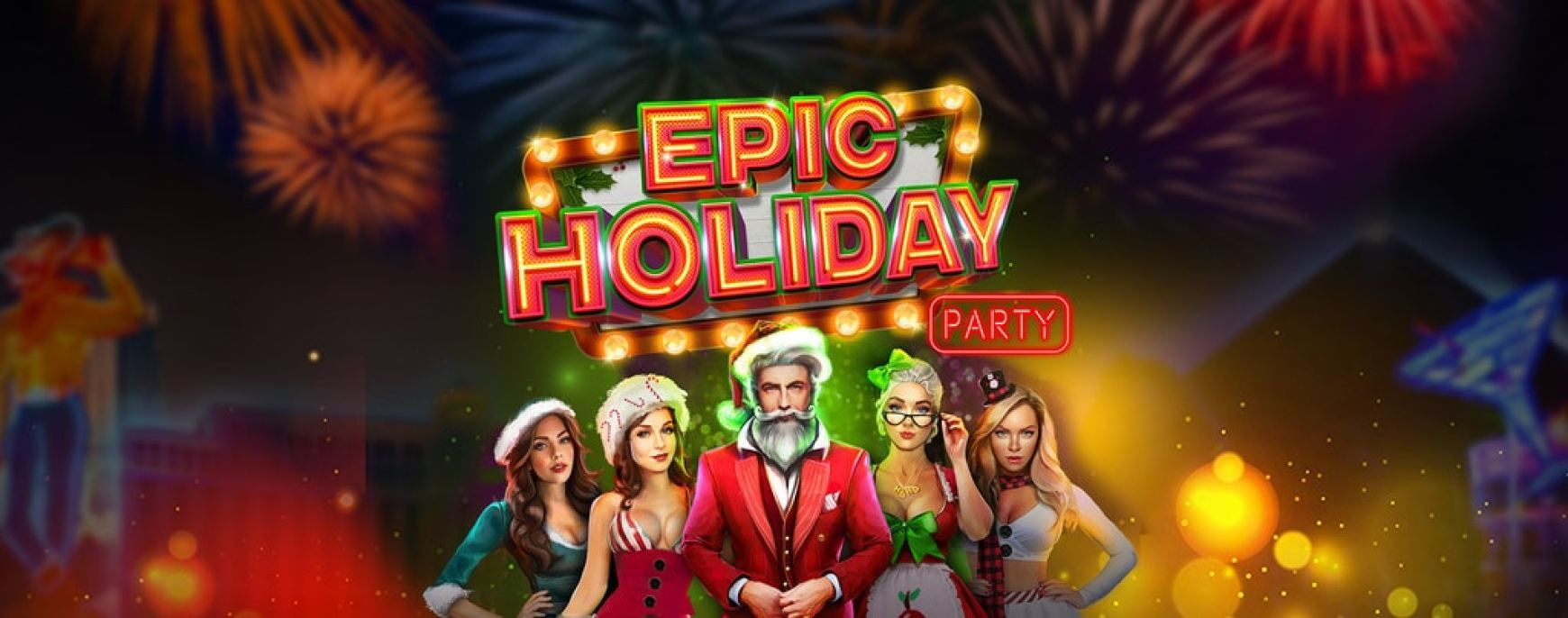 Lucky Tiger Casino RTG Epic Holiday Party