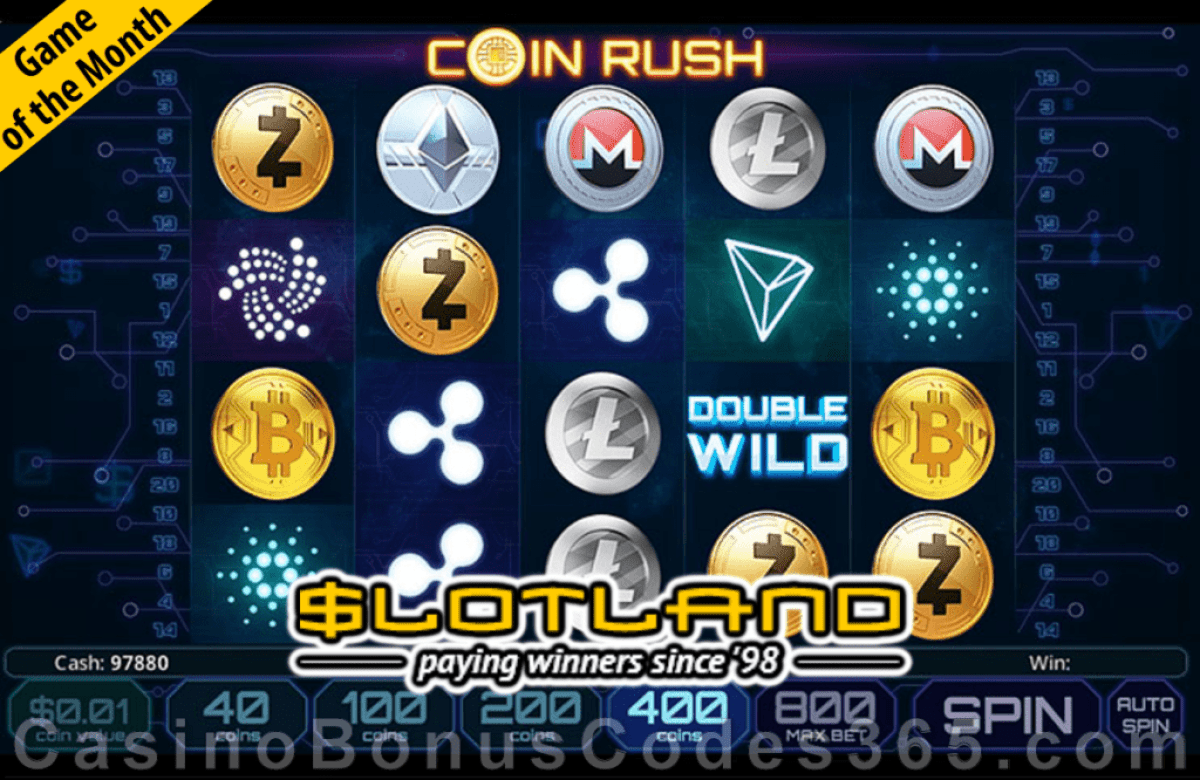 Slotland Casino November Game of the Month Coin Rush