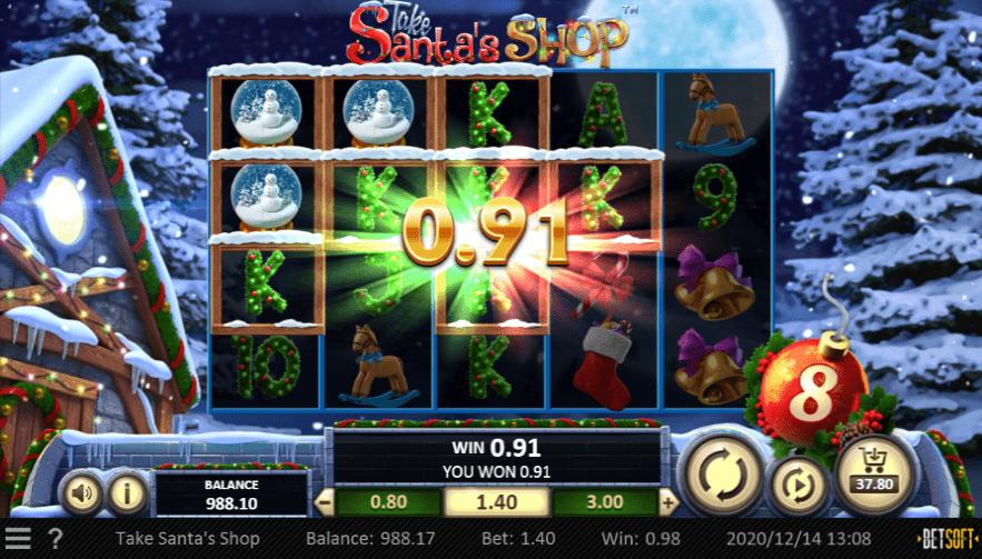 Box 24 Casino Take Santa's Shop