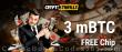CryptoThrills Casino 3 mBTC FREE Chip Special Crypto No Deposit Promo