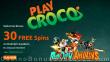 PlayCroco 30 FREE RTG Rudolph Awakens Spins Special Xmas 2020 All Players No Deposit Promo