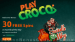 PlayCroco 30 FREE Spins on RTG Swindle All The Way Special No Deposit Deal for All Players