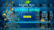 Raging Bull Casino 25 FREE RTG Mermaid's Pearls Spins No Deposit Deal