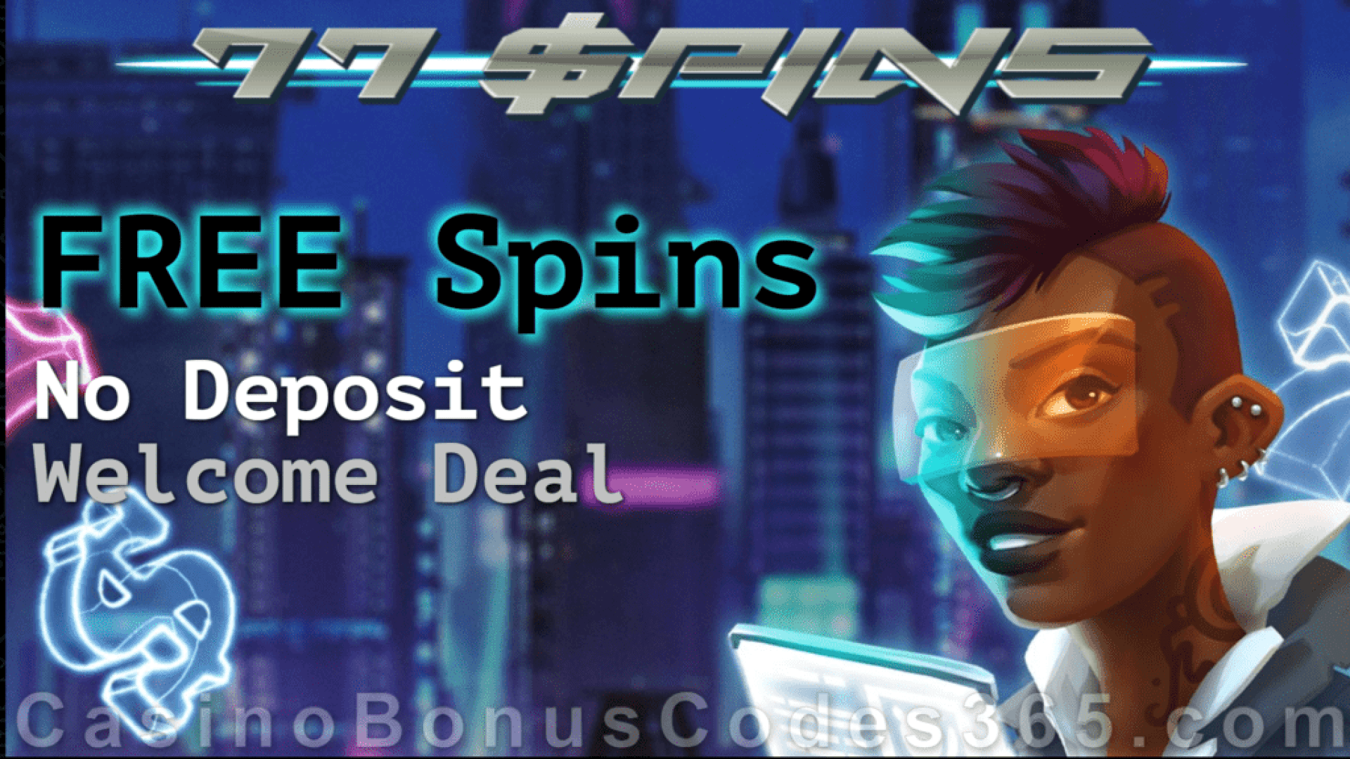 77Spins Monthly No Deposit FREE Spins Offer