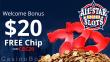 All Star Slots $20 No Deposit FREE Chip RTG