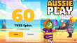 AussiePlay Casino 60 FREE RTG Football Fortunes Spins Special New Players Offer