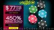 Club Player Casino $77 No Deposit FREE Chip plus 450% Match Sign Up Bonus RTG