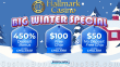 Hallmark Casino Amazing $50 No Deposit FREE Chip and 450% Match Bonus plus $100 FREE Chip Promotion