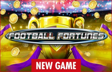 Intertops Casino Red 125% Bonus plus 50 FREE Spins on Football Fortunes New RTG Game Special Deal