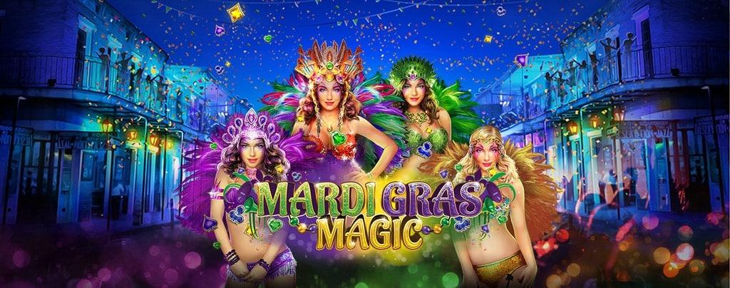 Slotastic RTG Mardi Gras Magic