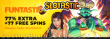Slotastic Online Casino RTG 5 Wishes January Fun Weekend Promo