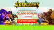 Slots Garden Double Your Money Welcome Bonus RTG