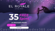 El Royale Casino 35 FREE Spins on RTG Mermaid's Pearls Special St. Valentine's Day No Deposit Welcome Deal