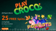 PlayCroco 25 FREE RTG Popiñata Spins Special No Deposit Offer All Players