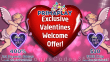 Prima Play 400% Match Bonus plus $30 FREE Chip St. Valentine's Day RTG Welcome Package