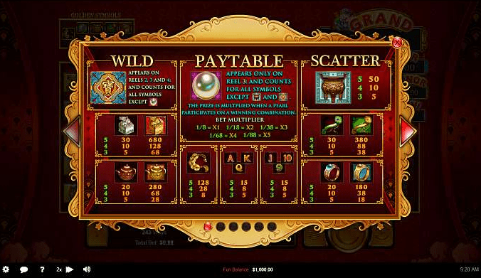 Planet 7 Casino RTG Plentiful Treasure