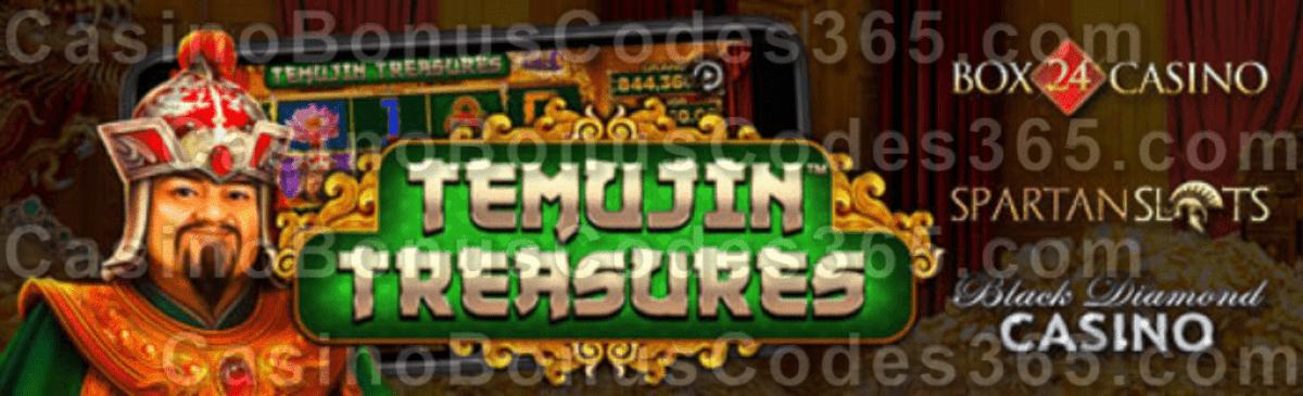 Box 24 Black Diamond Spartan Slots Temujin Treasures New Pragmatic Play Game is LIVE